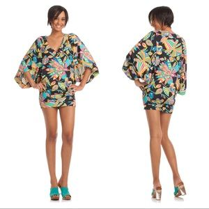 Trina Turk Tahitian Floral Tunic Swim Cover Up